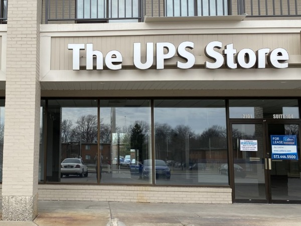 Storefront of The UPS Store in Columbia, MO
