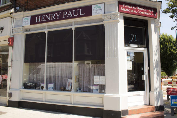 Henry Paul Funeral Directors in Hanwell, London.