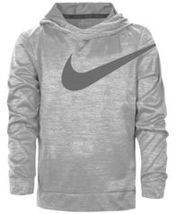 Image of Nike Logo-Print Dri-FIT Hoodie, Toddler & Little Boys (2T-7)