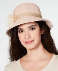 Image of August Hats Lace Flower Cloche