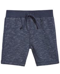 Image of First Impressions Marled Shorts, Baby Boys, Created for Macy's