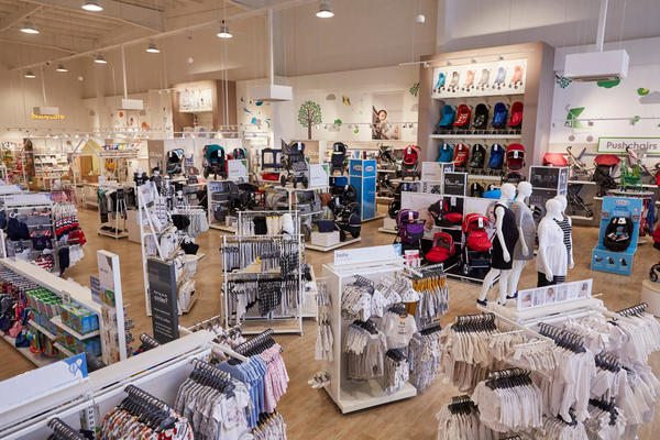 Mothercare Rugby store overview