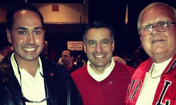 Me, Governor Sandoval and my wonderful Father Richard (Pictured From left to right)