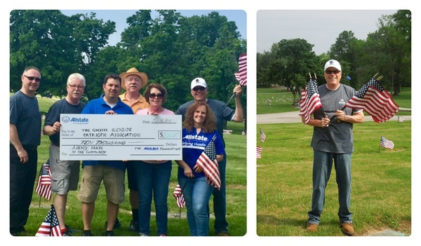 Lance Davidson - Allstate Foundation Helping Hands Grant for Greater Glenside Patriotic Association