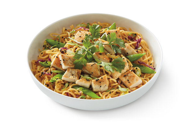 Grilled Orange Chicken Lo Mein