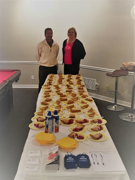 Christopher Heiny - Thanksgiving Pies for Fox Chase Apartments