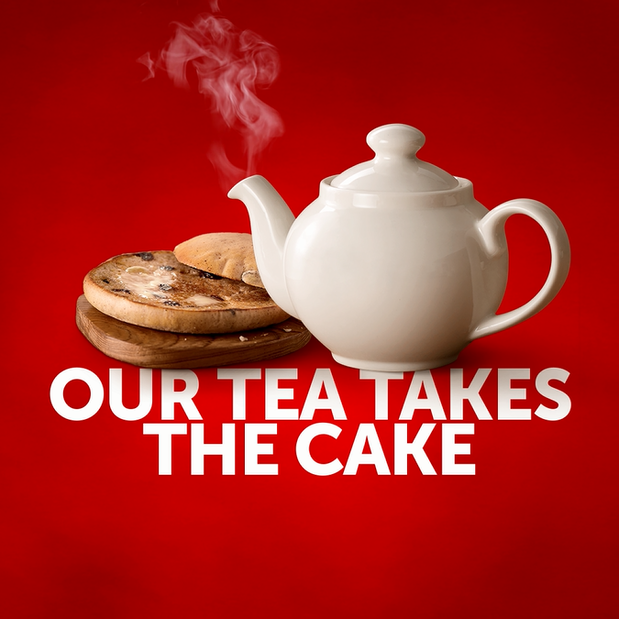 Image of Toasted Tea Cake & Regular Hot Drink Deal