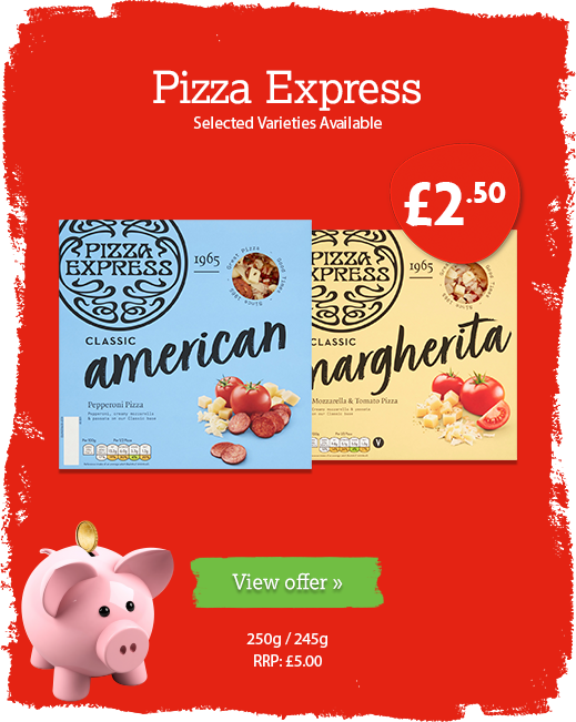 Pizza Express offer available until 11th February