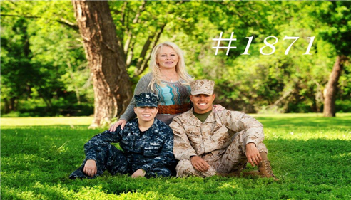 My wonderful kids and I.  My daughter Raven (Navy) and son Joe (Marines)