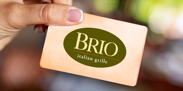 Brio Italian Grille - Gift Cards