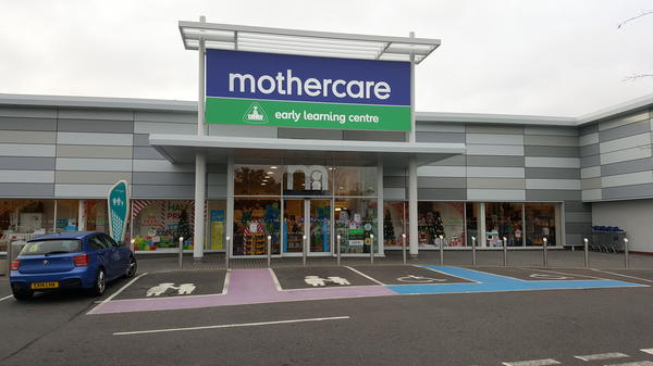 Mothercare Basildon outside