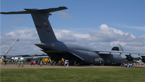 "A C-140 Transport at ""Wings Over Pittsburgh"""