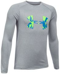 Image of Under Armour UA Tech Logo-Print Shirt, Big Boys (8-20)