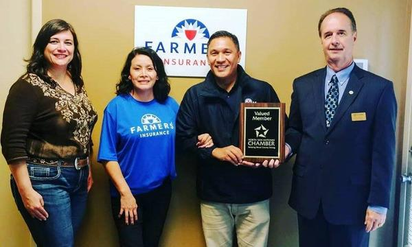 North  San Antonio Chamber Valued Member Plaque Presentation