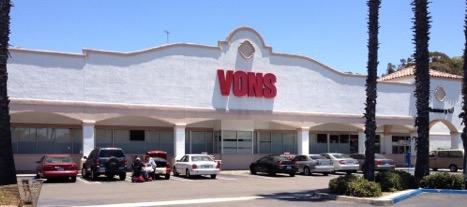Vons Store Front Picture at 1201 Avocado Blvd in El Cajon CA