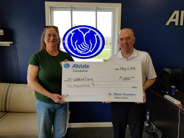 Ralph Sutter - Wildkind Care Receives Allstate Foundation Helping Hands Grant