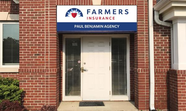 Exterior of Farmers Insurance office
