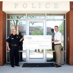 Adam Blackwell - Allstate Helping Hands Foundation Grant for the City of Suwanee Police Department
