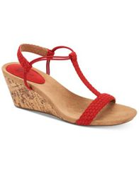 Image of Style & Co Mulan Wedge Sandals, Created For Macy's