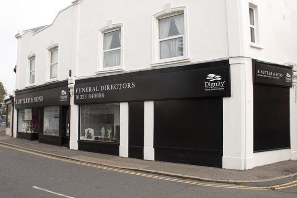 R Butler & Sons Funeral Directors in Hailsham, East Sussex.
