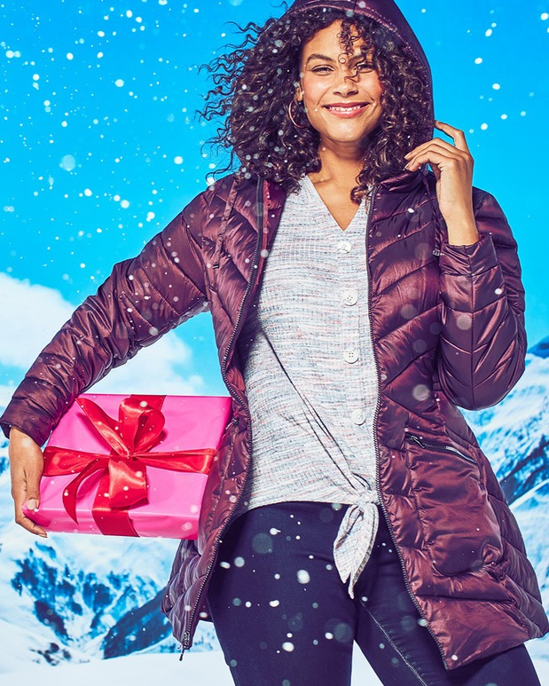 Plus size jackets and coats at Lane Bryant