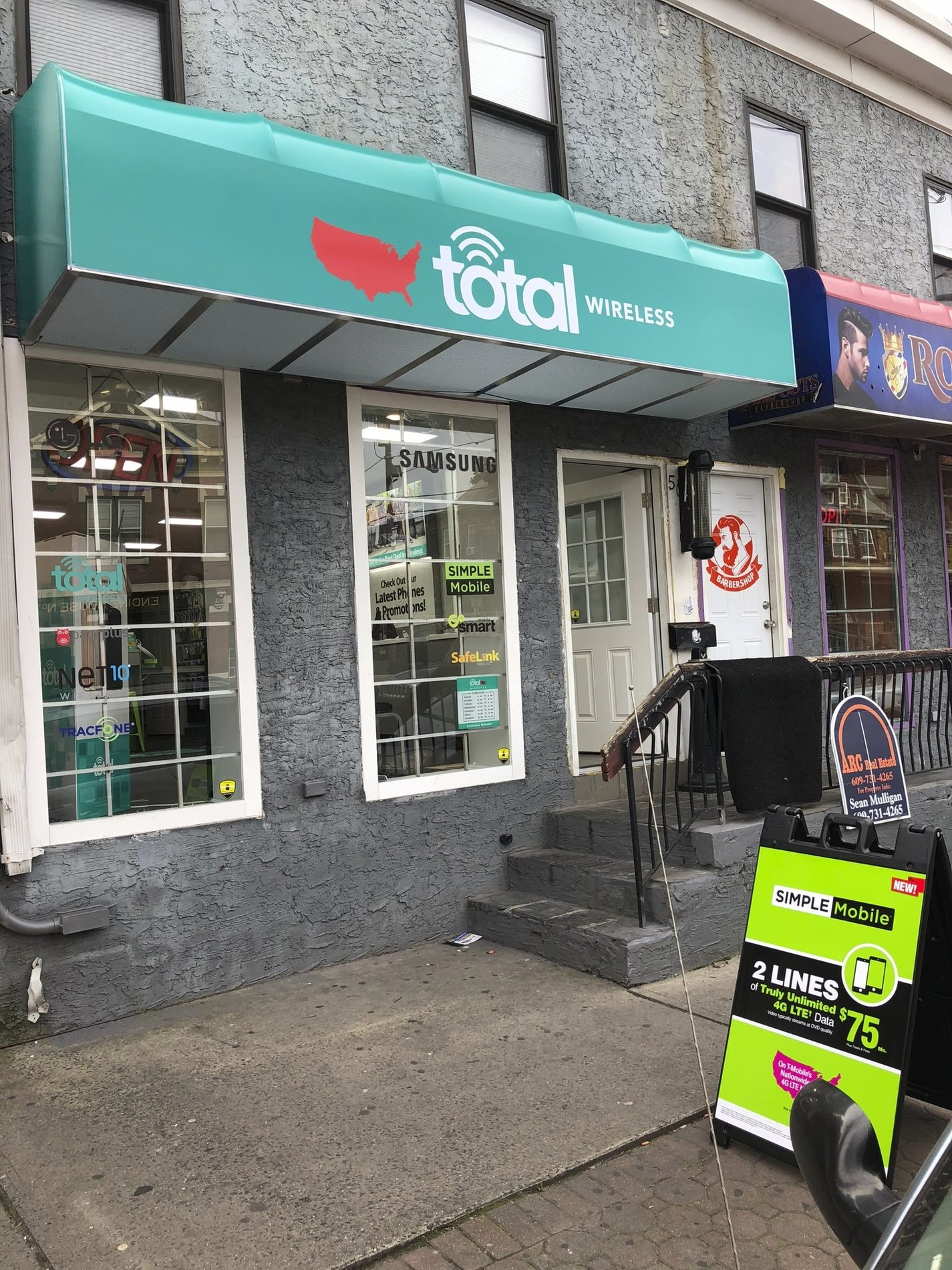 Total Wireless Store front image in Trenton,  NJ