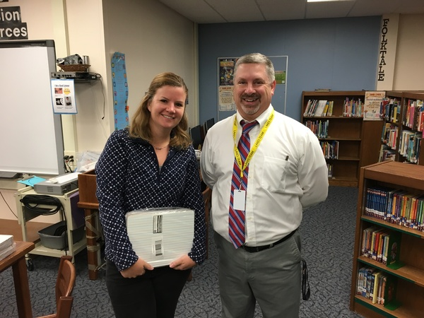 Hartland Lakes Elementary Teacher of the Month Grant Program