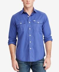 Image of Polo Ralph Lauren Men's Beach Twill Shirt