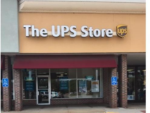 Facade of The UPS Store Kansas City