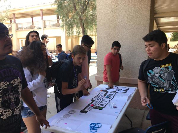 Robert Gallego - X the TXT at Chandler High School