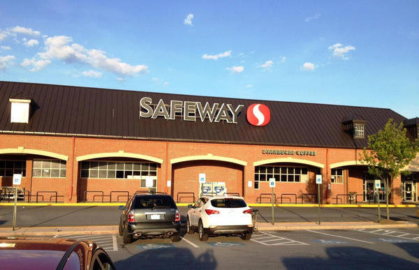 Safeway Store Front Photo at 7595 Greenbelt Rd in Greenbelt MD