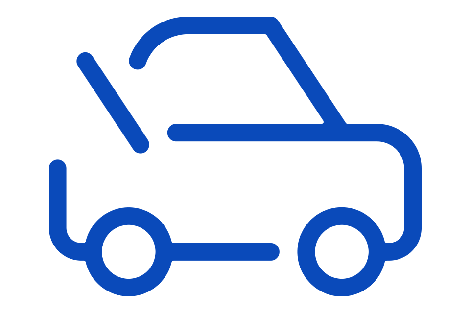 Logo for Curbside Pickup