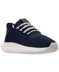 Image of adidas Big Boys' Tubular Shadow Casual Sneakers from Finish Line
