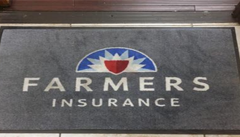 So excited our new Farmers® logo door mat arrived!