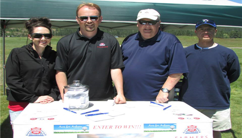 6/15/13 At the Aces For Autism golf tournament put on by The Isaac Foundation