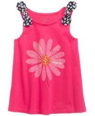 Image of First Impressions Baby Girls Graphic-Print Tank Top Tunic, Created for Macy's