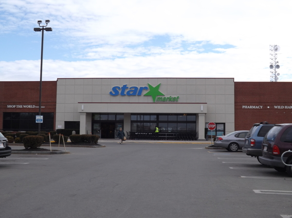 Star Market Store Front Picture at 45 Morrissey Blvd in Dorchester MA