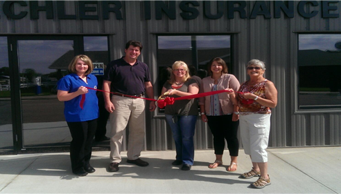 Ribbon Cutting for our new building from the Malta Area Chamber of Commerce.