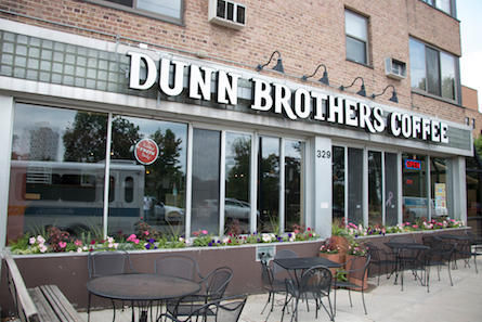 Dunn Brothers Coffee Located Near Loring Park In Minneapolis MN - Open table minneapolis