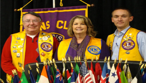 Induction into Lions Club
