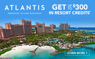Get up to $300 in Resort Credits