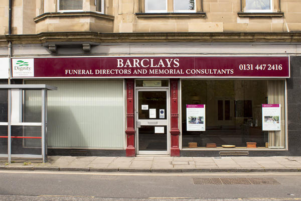Barclays Funeral Directors in Edinburgh