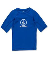 Image of Volcom Boys Lido Logo Graphic Rash Guard