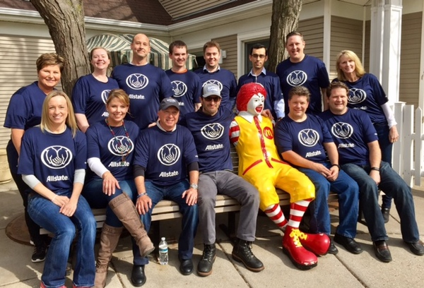 Tom Baecker - Allstate Foundation Grant for Ronald McDonald House Charities, Upper Midwest