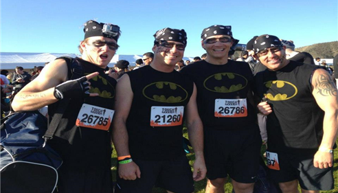 Crazy Tough Mudder in 2014 - Temecula