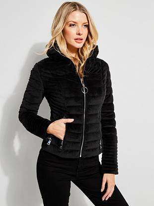 black winter jacket for women