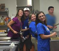 Our Chantilly, VA insurance agency volunteering at NVFS SERVE