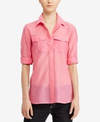 Image of Lauren Ralph Lauren Broadcloth Shirt
