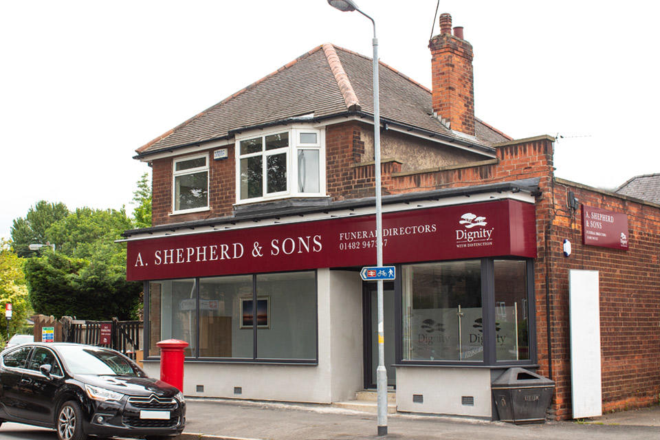 A Shepherd & Sons Funeral Directors in Hull