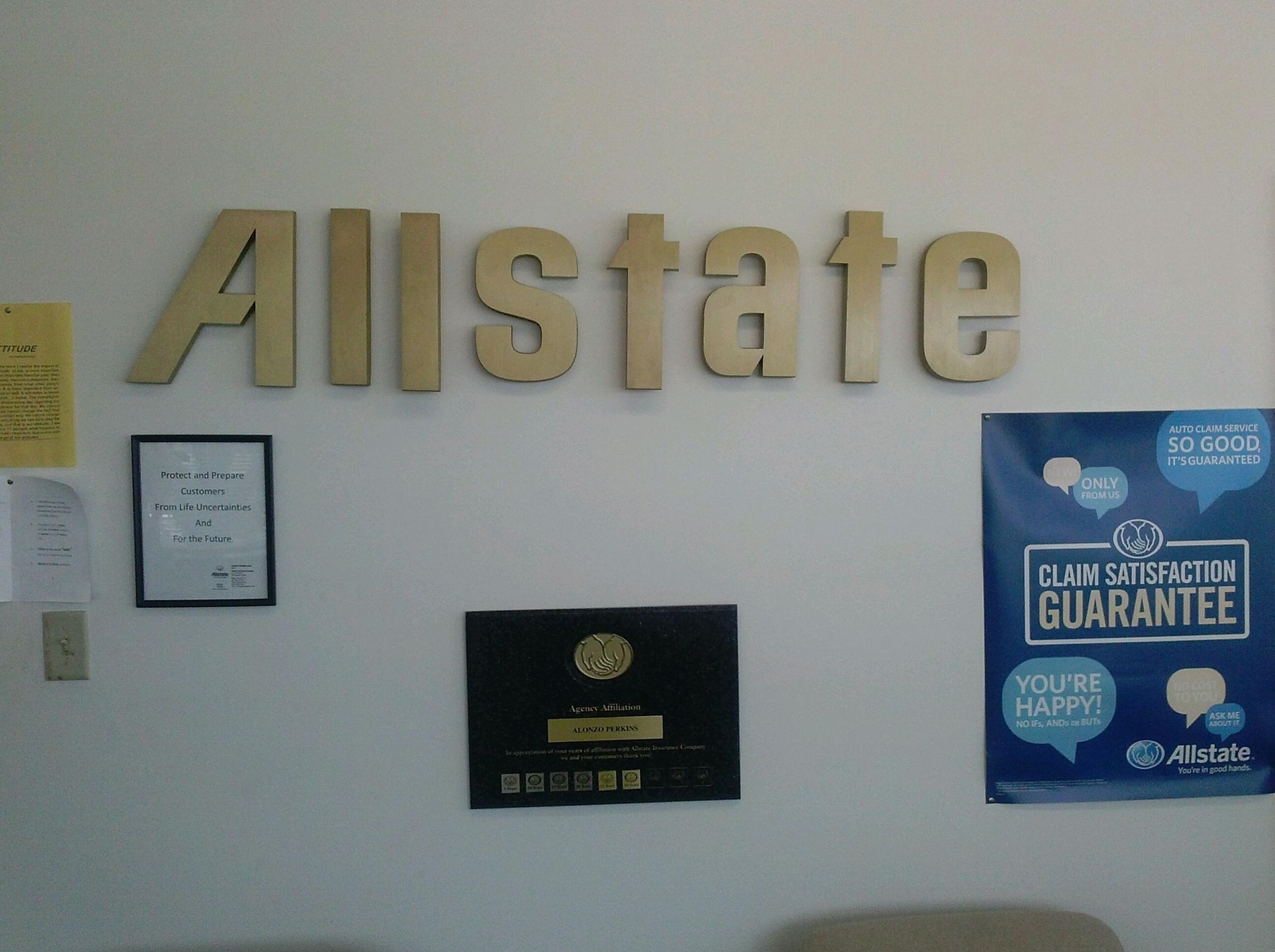 Allstate Car Insurance In Park Forest Il Alonzo Perkins